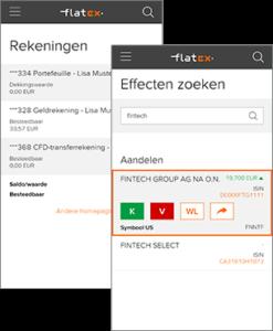 mobiele versie flatex.nl